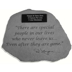 """Special People"" Personalized Memorial Stone"