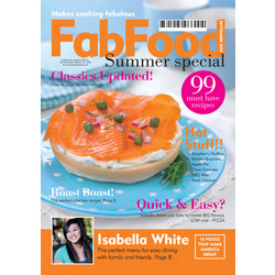 Personalized Food Fake Magazine Cover