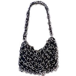 Shimmery Night Soda Pop Top Shoulder Bag