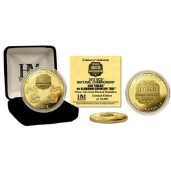 2011 BCS National Game Dueling Commemorative Gold Coin