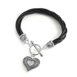 Leather Twist Bracelet