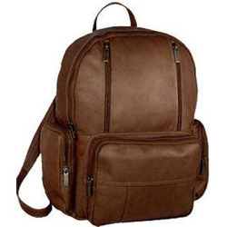 Vaquetta Leather Laptop Backpack