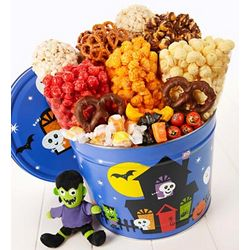 Happy Haunting Snack Assortment with Plush Frankenstein