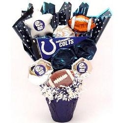 Indianapolis Colts Fan CookiePot Bouquet