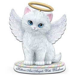 Kittens Are Angels With Whiskers Figurine