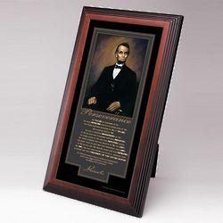 Lincoln Perseverance Framed Desktop Print