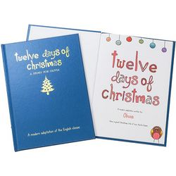Twelve Days of Christmas Personalized Children's Book