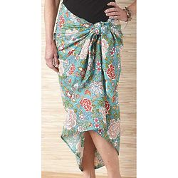 Mojito Floral Print Sarong
