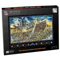 New England Patriots Joe Journeyman Jigsaw Puzzle