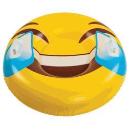 Giant Tears of Joy Emoji Snow Tube