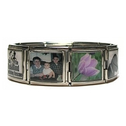 Wearable Memories Photo Mega Charm Bracelet