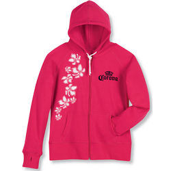 Ladies' Corona Wear Hooded Sweatshirt