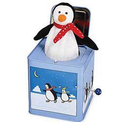 Penguin Jack-in-the-Box