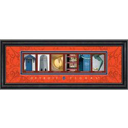 Detroit Tigers Framed Letter Art