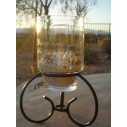 Hanging Cylinder Centerpiece with Stand