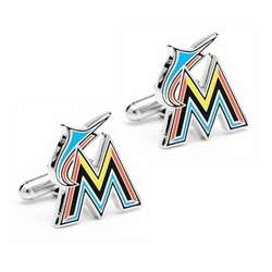 Miami Marlins Cuff Links
