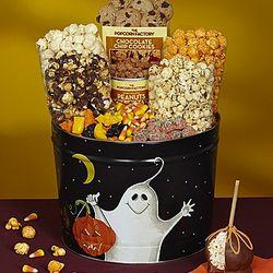 2 Gallon Giant Boo Popcorna and Snacks Tin