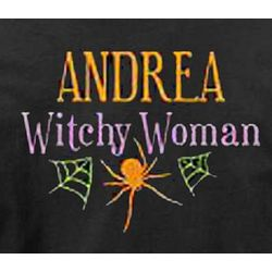 Personalized Witchy Woman Sweatshirt