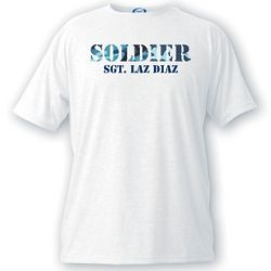 Men's Personalized Soldier T-Shirt