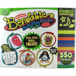 Bendable Building Sticks Art and Crafts Kit