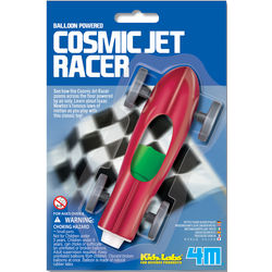Balloon Powered Cosmic Racer Toy