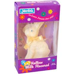 Hollow White Chocolate Easter Bunny
