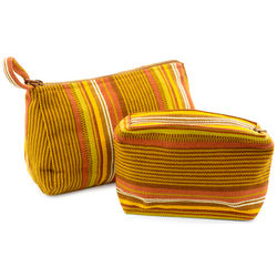 Loving Sunset Cotton Cosmetic Bags