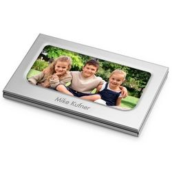 Photo Business Card Case