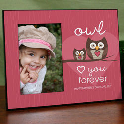 Personalized Owl Love You Forever Frame