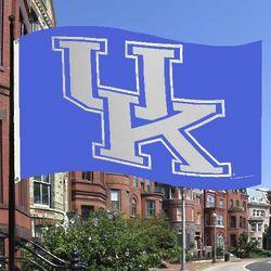 Kentucky Wildcats Royal Blue Flag