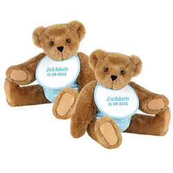 "15"" Twin Boy Bears Set"