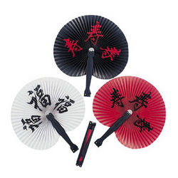 Chinese Character Fans