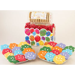 Smiling Bouquet Cookie Gift Basket