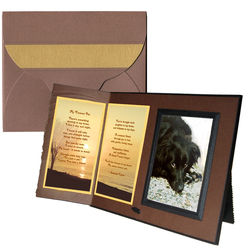 """My Forever Pet"" Sympathy Gift Frame"