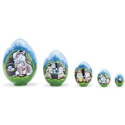 Easter Bunny Nesting Eggs Set