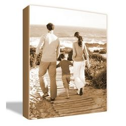 Sepia Photo To Canvas Art