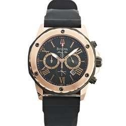 Men's Bulova Marine Star Rose Chronograph Wrist Watch
