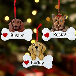 Personalized Pet Breed Ornament