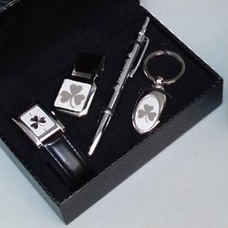 Men's Shamrock Boxed Gift Set