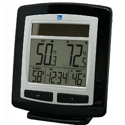 Wireless Solar Temperature Center