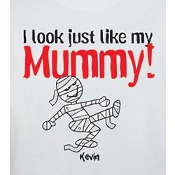 Look Like Mummy Personalized Halloween Sweatshirt