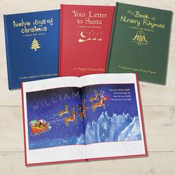 Nursery Rhymes and Christmas Personalized Children's Books