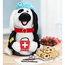 To the Rescue Dog Lover's Get Well Treats Gift Basket