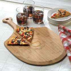 Bamboo Wood Personalized Pizza Board