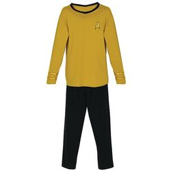 Star Trek Yellow Command Pajamas