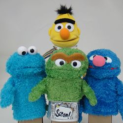 Personalized Sesame Street Puppet