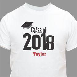 Graduation Cap Class of Personalized Graduation T-Shirt