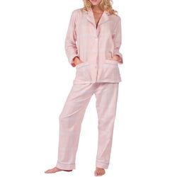 Think Pink Plaid Pajamas
