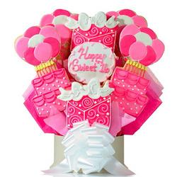 Sweet 16 Bouquet of Cookies