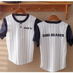 Ring Bearer Personalized Baseball Jersey